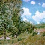 Road from Versailles to Saint Germain – Alfred Sisley