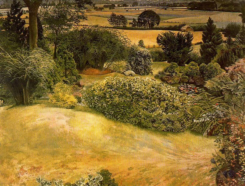 Rock Garden Cookham Dene - Stanley Spencer
