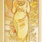 Rose – Alphonse Mucha
