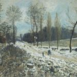 Route to Marly Le Roi in Snow – Alfred Sisley