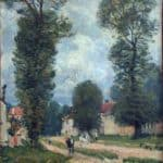 Route to Versailles – Alfred Sisley