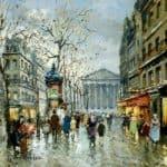 Rue Tronchet la Madeleine – Antoine Blanchard