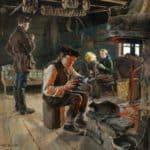 Rustic life  – Akseli Gallen-Kallela