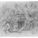 Sailors Maneuvering a Cannon – John Singleton Copley