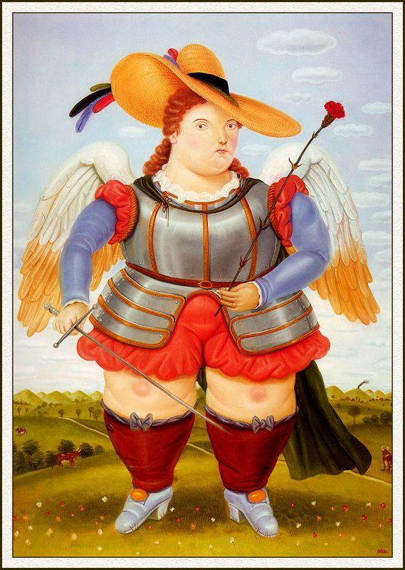 Saint Michael Archangel - Fernando Botero