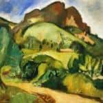 Sainte-Victoire Mountain – Othon Friesz