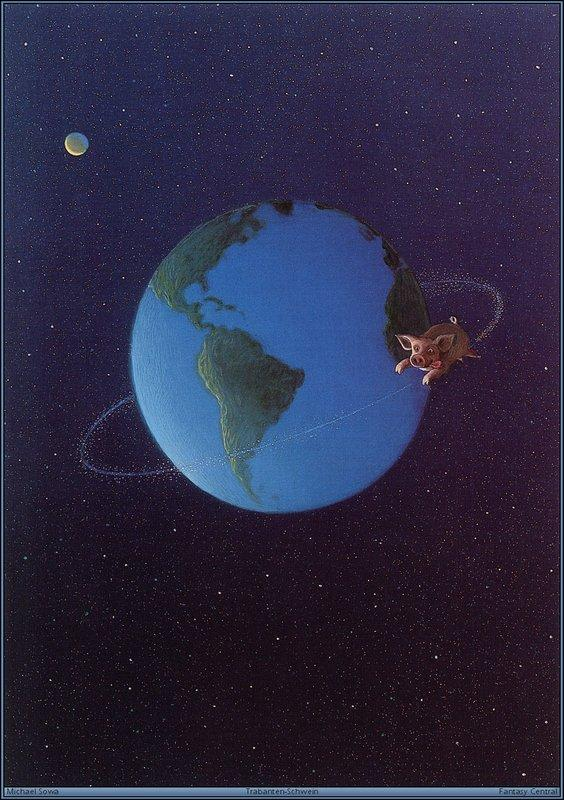 Satellites Of Pig - Michael Sowa