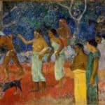 Scene from Tahitian Life – Paul Gauguin