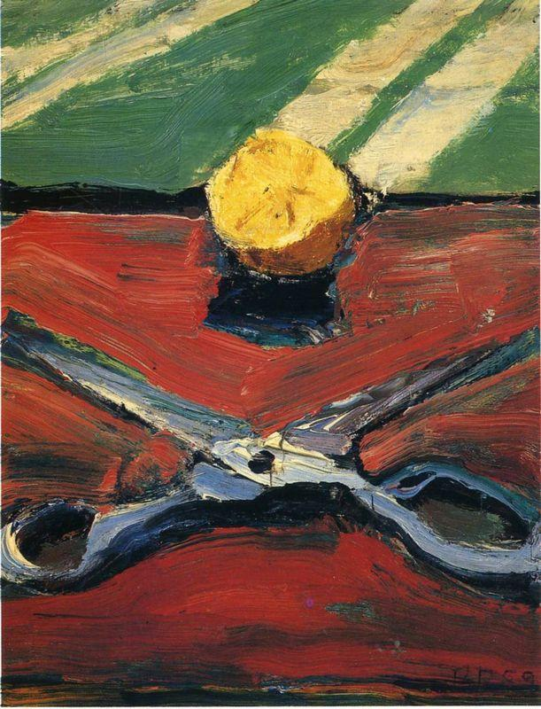 Scissors and Lemon - Richard Diebenkorn