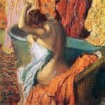 Seated Bather – Edgar Degas