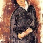 Seated Woman – Amedeo Modigliani