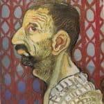 Self-Portrait in Profile – Annibale Carracci