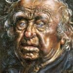 Self Portrait Face – Ivan Albright