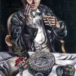 Self Portrait Smoking – Ivan Albright