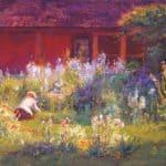 Selma in the Garden – T. C. Steele