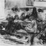 Sewing school – Max Liebermann
