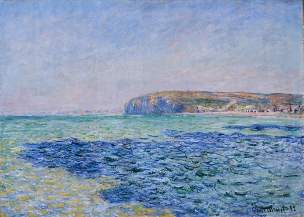 Shadows on The Sea At Pourville