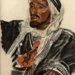 Sheikh Sattam de Haddadin of Palmyra – Alexandre Jacovleff