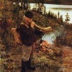 Shepherd Boy from Paanajarvi  – Akseli Gallen-Kallela
