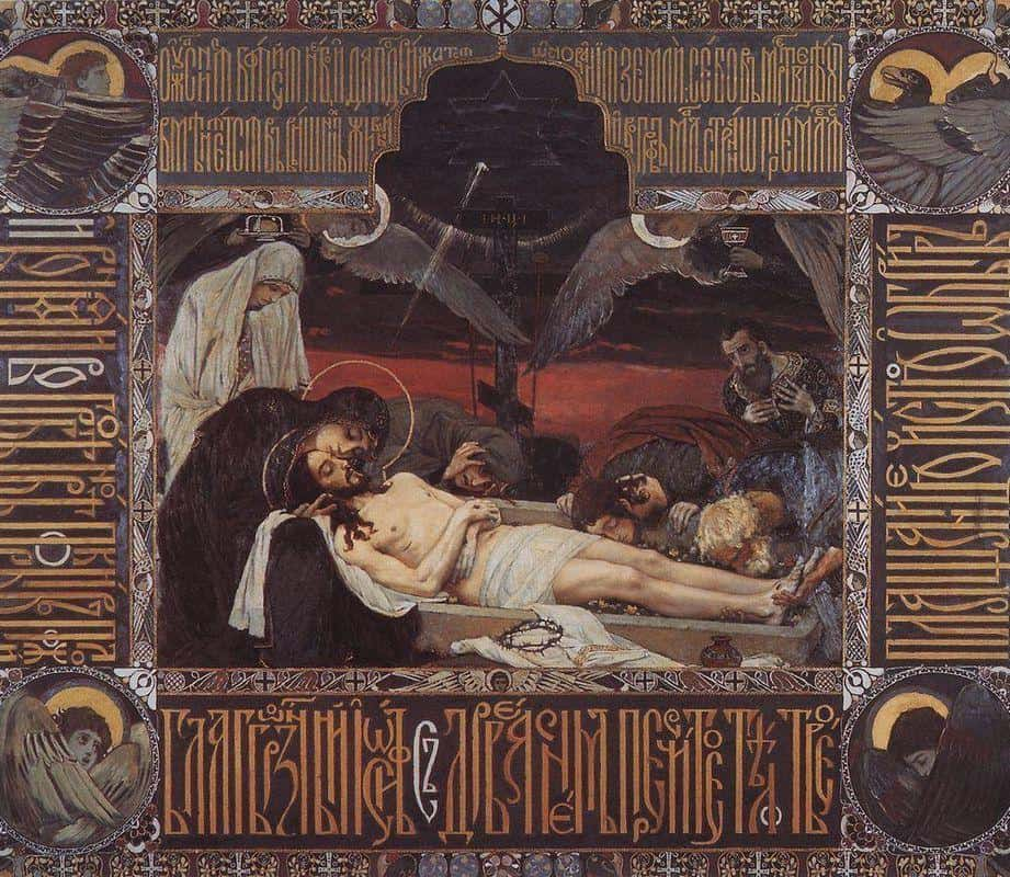 Shroud of Christ - Viktor Vasnetsov