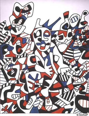 Site To The Man Sitting - Jean Dubuffet