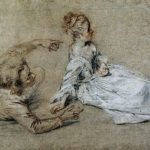 Sitting Couple – Antoine Watteau
