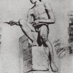 Sitting Model – Ilya Repin