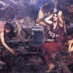 Sketch for Flora and the Zephyrs – John William Waterhouse