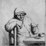 Smiling Smoker – Adriaen van Ostade