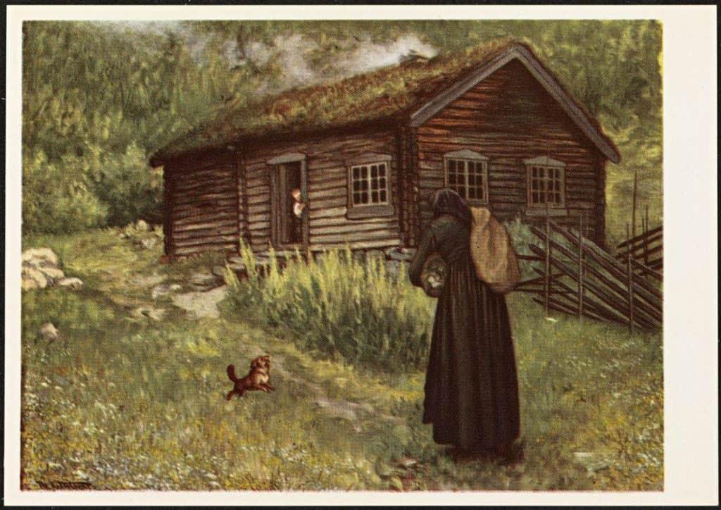 Smorbokk - Theodor Severin Kittelsen