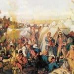 Soldiers of Catherine II – Alexandre Benois