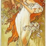 Spring – Alphonse Mucha