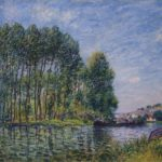 Spring on the Loing River – Alfred Sisley
