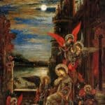 St. Cecilia (The Angels Announcing her Coming Martyrdom) – Gustave Moreau
