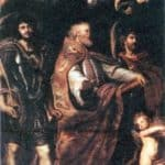 St. George with St. Maurus and Papianus – Peter Paul Rubens