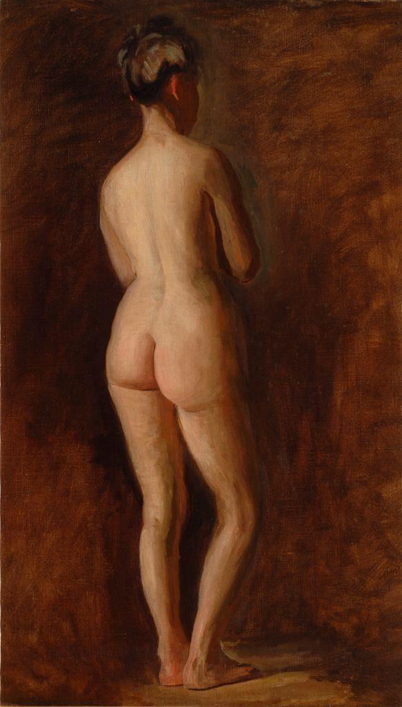 Standing Female Nude - Thomas Eakins