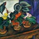 Still Life. Begonias. – Pyotr Konchalovsky