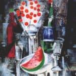 Still life, bowl of cherries – Aleksandra Ekster