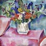 Still Life. Flowers in pink. – Pyotr Konchalovsky