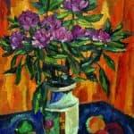 Still Life with Peonies in a Vase – Pyotr Konchalovsky