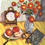 Still Life with Red Flowers – Theodor Pallady