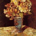 Still Life with Wild and Garden Flowers – Adolphe Joseph Thomas Monticelli