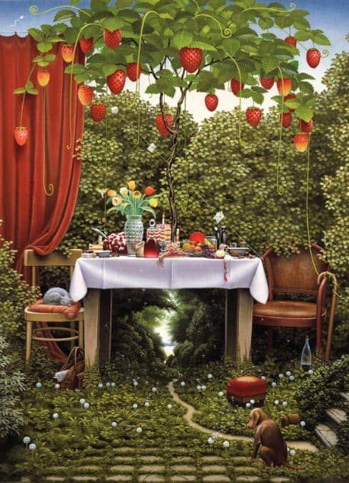 Strawberry Tree - Jacek Yerka