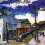 Street in Sergiev Posad – Aristarkh Lentulov
