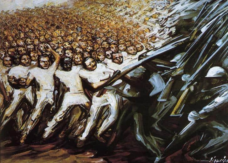 Struggle For Emancipation - David Alfaro Siqueiros
