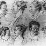Studies of Women's Heads – Antoine Watteau