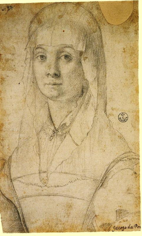 Study Of A Woman, Possibly Maria Salviati - Jacopo Pontormo