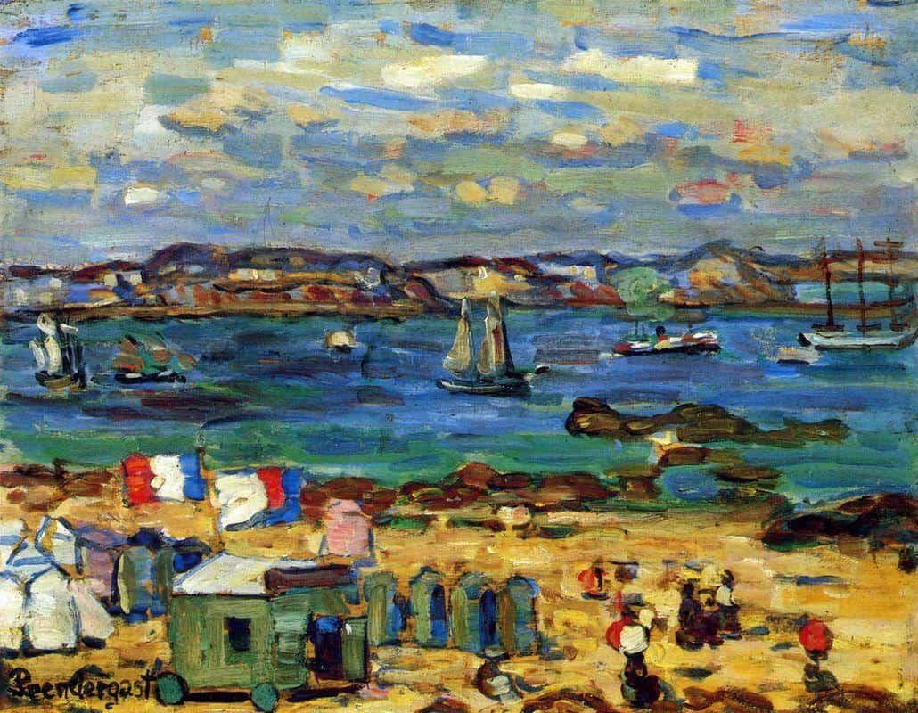 Study, St. Malo, No. 12 - Maurice Prendergast