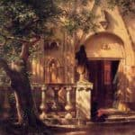 Sunlight and Shadow – Albert Bierstadt