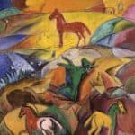 Sunrise on the Steppes – David Burliuk